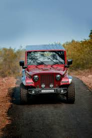 rally jeep wrangler mahindra thar crdi 4x4 modified into jeep