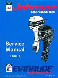 1994 johnson evinrude 2 thru 8 outboards service manual pdf