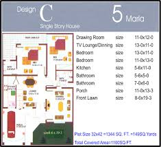 100 home design for 5 marla 5 marla house for sale in dha