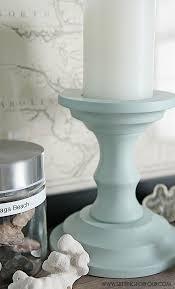 Beautiful Diy Home Decor Painted Candlesticks Beautiful Diy Home Decor Setting For Four