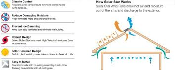 solar star attic fan sunshine experts