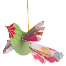 susan could make these with book pages handmade paper bird