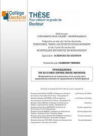 chambre syndical du d agement vermes 2014 fundraising modélisation pdf available