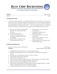 Legal Secretary Resume Classy Resume Objective Examples For Legal Assistant On Resume