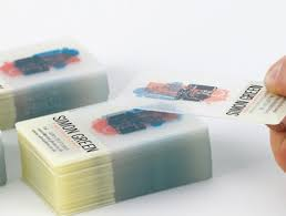 Translucent Plastic Business Cards Plastic Business Card Printers In Dublin Printco Ireland