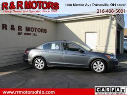 honda accord history used 2008 honda accord for sale in painesville oh 44077 r r motors