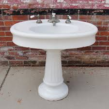 oval pedestal sink befon for