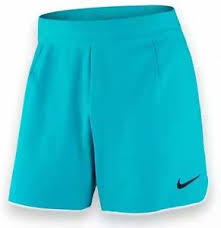 light blue nike shorts new nike men s gladiator premium 7 tennis shorts light blue white