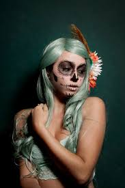 Sugar Skull Halloween Costumes 48 Los Muertos Images Halloween Makeup