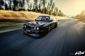 bmw e30 m3 feature stian s e30 m3 blackbird drifted com