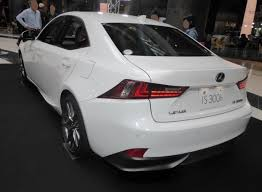 lexus f sport is300h file lexus is300h f sport ave30 rear jpg wikimedia commons