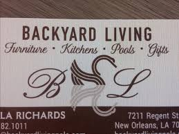 backyard living new orleans la 70124 yp com