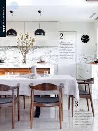 Architect Kitchen Design Stunning Arabescato Marble Features In This Beautiful Kitchen