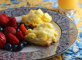 make ahead scrambled eggs in puff pastry recipe