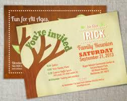 family reunion invitation family gathering invite family get