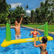 intex inflatable pool volleyball set toysplash