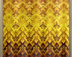 Brown And Gold Shower Curtains Gold Shower Curtain Etsy