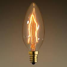 Candelabra Light Fixtures Antique Light Bulb Ca10 Candelabra Base 40w