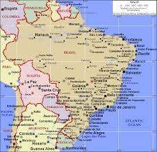 city map of brazil brazil population map