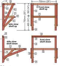 Free Plans To Build A Woodworking Bench by Over 50 Free Workbench Woodcraft Plans At Allcrafts Net