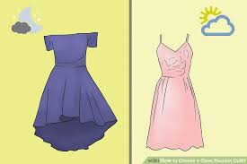 dresses for class reunions how to choose a class reunion 10 steps with pictures
