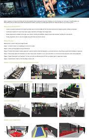 3d gym layout design