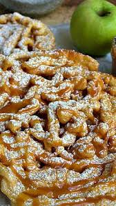 fair food at home week funnel cake recipe powdered sugar