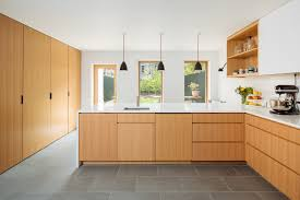 modern kitchen with white oak cabinets photo 8 of 10 in 10 unbeatable brownstone renovations in