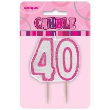 candele scintillanti candele e stelline scintillanti per feste di 40 compleanno