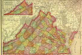 Virginia Counties Map raymond d shasteen genealogy our ancestors got us here