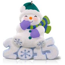 hallmark keepsake ornament frosty decade snowman