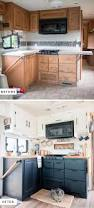 Camping Kitchen Setup Ideas by Best 25 Travel Trailer Remodel Ideas On Pinterest Trailer