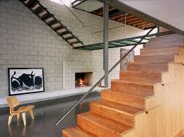 diamond block retaining wall industrial staircase via ehrlich