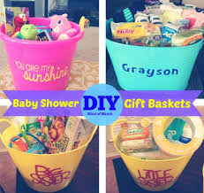 baby shower baskets baby shower gift baskets