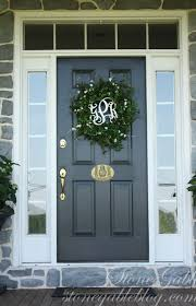 exterior exciting image of front porch decoration using double