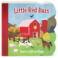 Red Barn Door by Little Red Barn Lift A Flap Board Book Babies Love Ginger