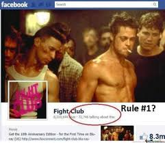 Fight Club Memes - rule 1 don t talk about fight club by ninjallama meme center