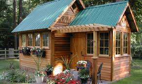 Garden Building Ideas Backyard Who Says Building A Garden Shed Cant Be Some Ideas