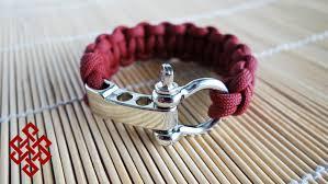 bracelet tutorials youtube images How to make an adjustable shackle cobra knot paracord bracelet jpg