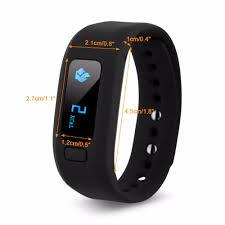 heart healthy bracelet images Excelvan moving up 2 smart healthy bracelet bluetooth v4 0 jpg