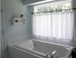 curtains for bathroom windows ideas i a window just like this in my master bath these curtains