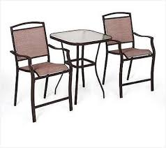 bar height patio table and chairs get minimalist impression