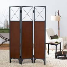 Tension Pole Room Divider Metal Room Dividers On Hayneedle Decorative Metal Room Dividers