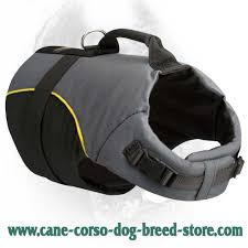 Comfortable Dog Collars Extra Comfortable Nylon Cane Corso Vest H13 1030 Nylon Dog Vest