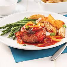 viande a cuisiner mini pains de viande façon tournedos soupers de semaine recettes