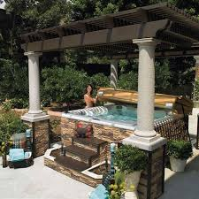 Patio Designs With Pergola by Best 25 Tub Pergola Ideas Only On Pinterest Outdoor Pergola