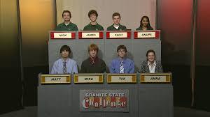 granite state challenge rules