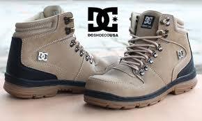 Sepatu Dc Jual jual sepatu dc peary winter safety boots beige baru sneaker on