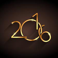 imagenes feliz año nuevo 2016 feliz año nuevo 2016 dorado descargar vectores gratis