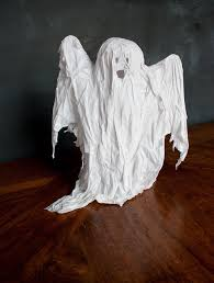 how to make ghost halloween decorations onehowto image titled